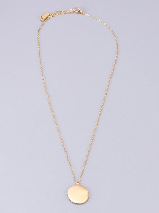 A TEEM Titanium Steel Crown Vintage Necklace 3