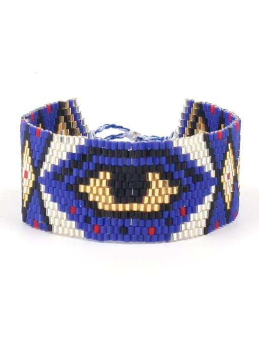 Roxi Multi Color MGB Bead Geometric Bohemia Adjustable Bracelet 1