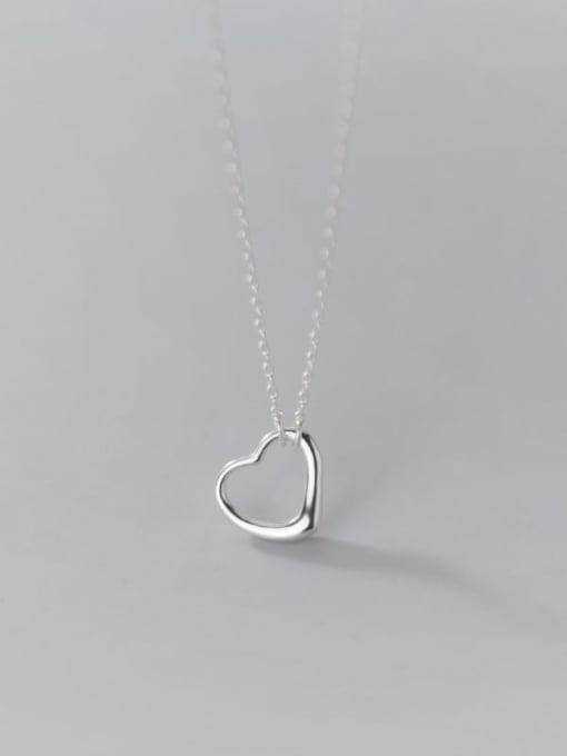Rosh 925 Sterling Silver Geometric Minimalist Necklace 4