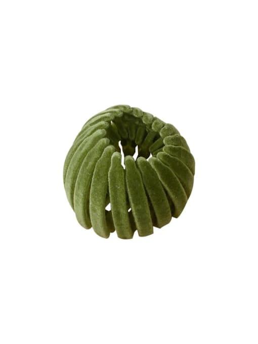Chimera Flocking hair clip Ball head Horsetail Hair Ring 2