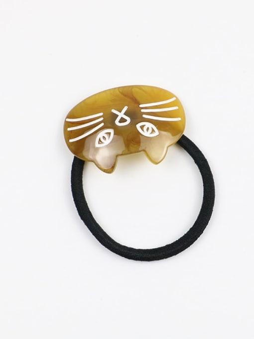 HUIYI Cellulose Acetate Minimalist Cat Hair Rope 2