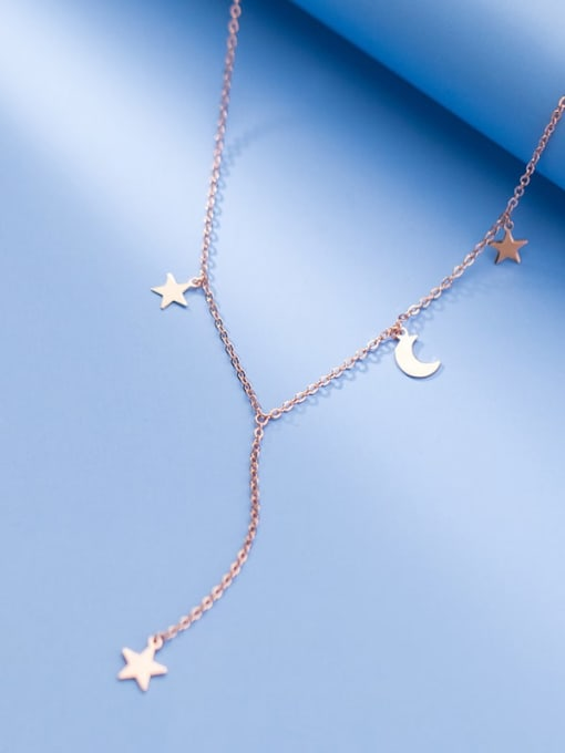 Rosh 925 Sterling Silver Tassel Minimalist Lariat Necklace