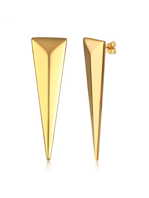 CONG Stainless steel Geometric Minimalist Stud Earring 0