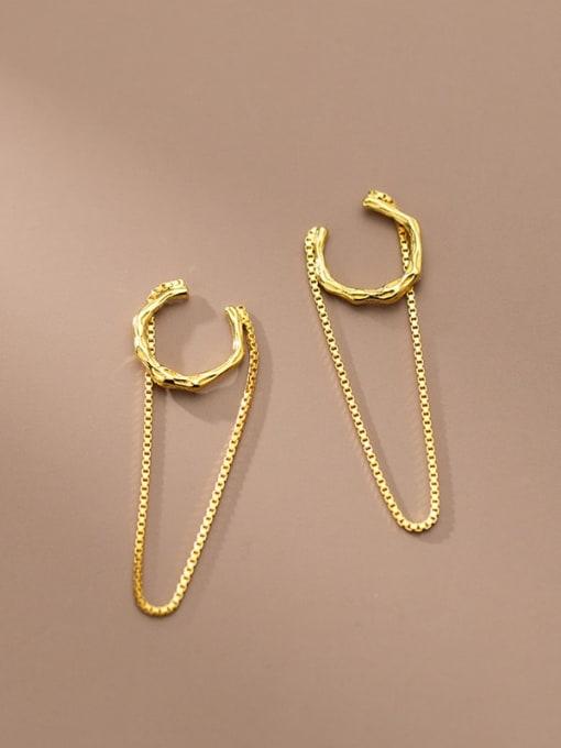 Rosh 925 Sterling Silver Geometric Minimalist Threader Earring 4