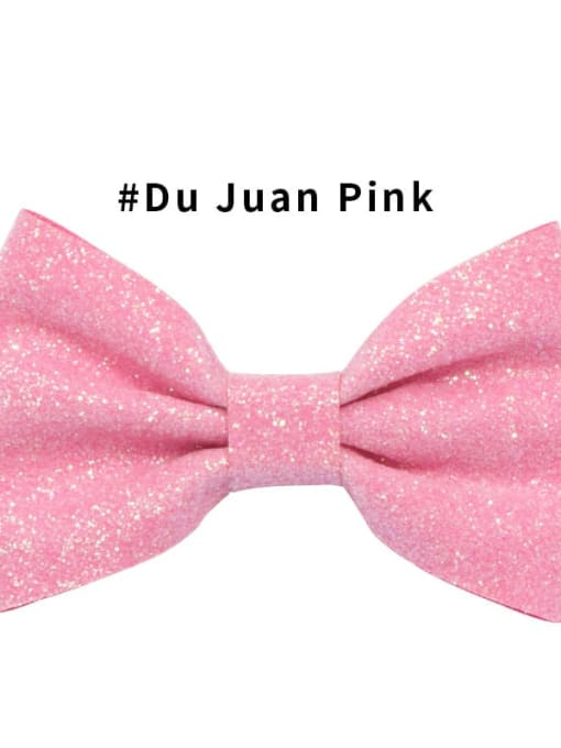 2 Du Juan powder Alloy Fabric Cute Bowknot  Multi Color Hair Barrette