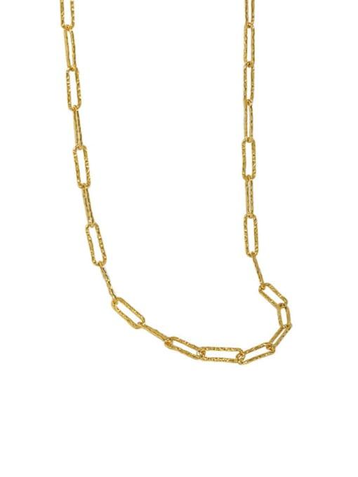 DAKA 925 Sterling Silver Geometric Minimalist Necklace