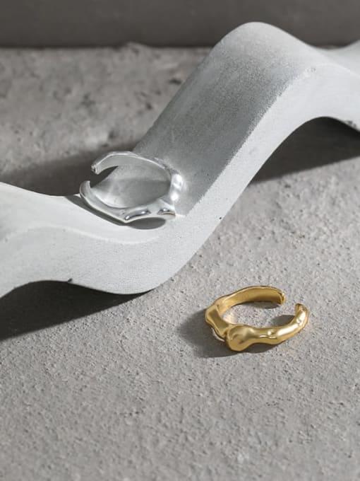 DAKA 925 Sterling Silver Irregular Minimalist Single Earring 1