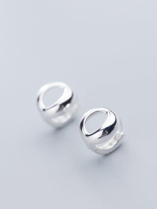 Rosh 925 Sterling Silver Star Minimalist Stud Earring