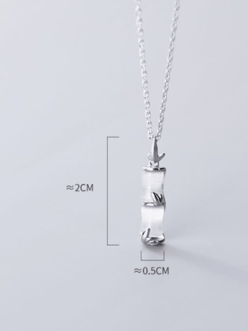 Rosh 925 Sterling Silver Shell Geometric Minimalist Necklace 3