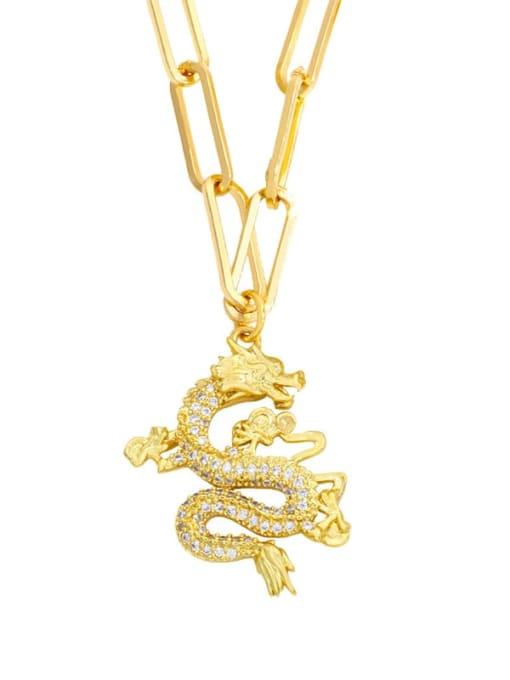 MMBEADS Brass Cubic Zirconia Butterfly Hip Hop Necklace 1