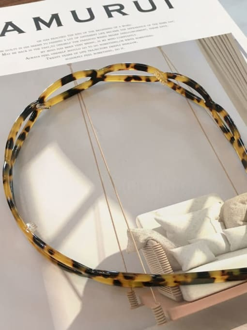 Carambola K008 Cellulose Acetate Vintage Geometric Hair Headband