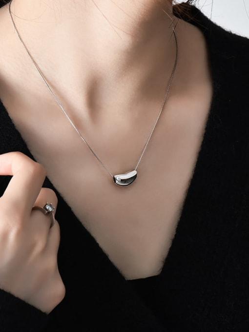 XBOX 925 Sterling Silver Irregular Minimalist Necklace 2