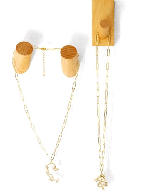 MMBEADS Brass Cubic Zirconia Butterfly Hip Hop Necklace 3