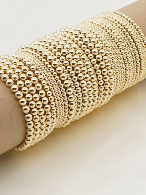 Roxi Stainless steel Bead Round Minimalist Beaded Bracelet 3