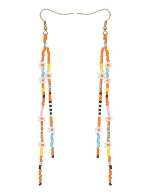 Roxi Stainless steel MGB Bead  Multi Color Geometric Bohemia Hook Earring