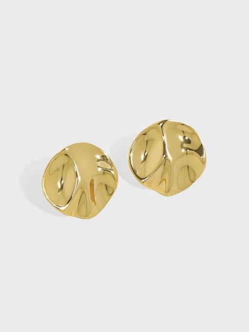 DAKA 925 Sterling Silver Geometric Minimalist Stud Earring 0