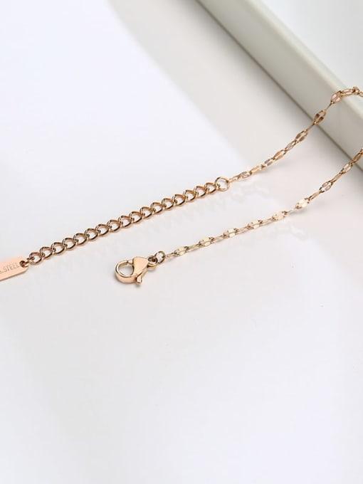 CONG Titanium Steel Irregular Minimalist Necklace 2