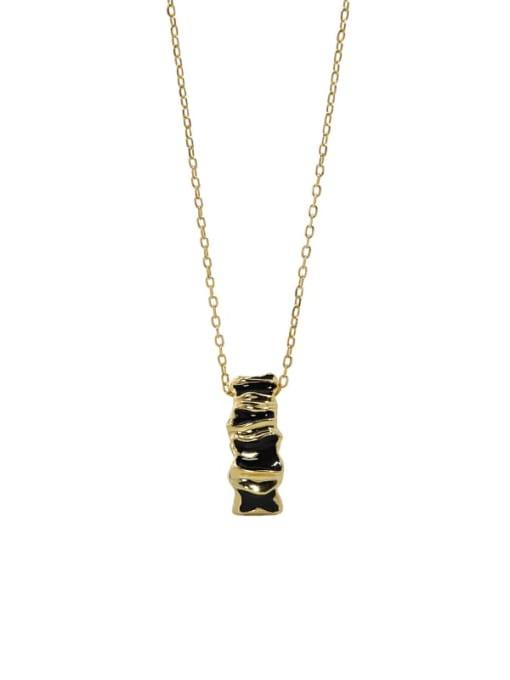 DAKA 925 Sterling Silver Cubic Zirconia Geometric Vintage Necklace 3