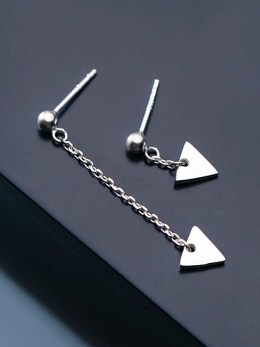 Rosh 925 Sterling Silver Triangle Minimalist Stud Earring 3
