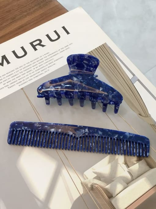 Chimera Cellulose Acetate Trend  Comb hairpin two-piece Set 1