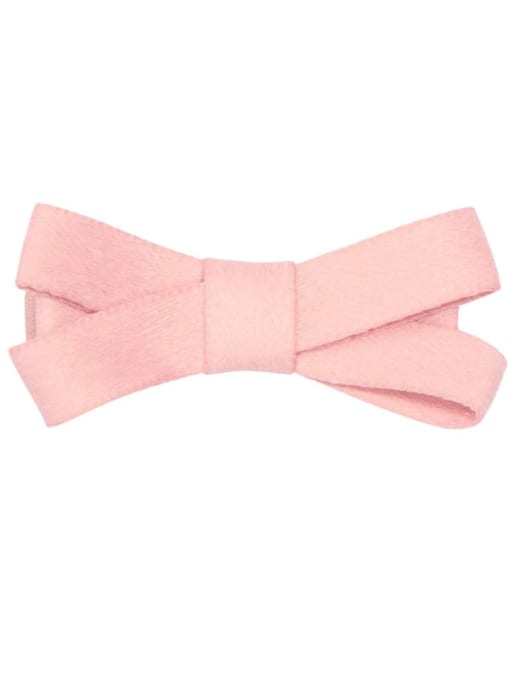 9 lotus root Pink Alloy Fabric Cute Bowknot  Multi Color Hair Barrette