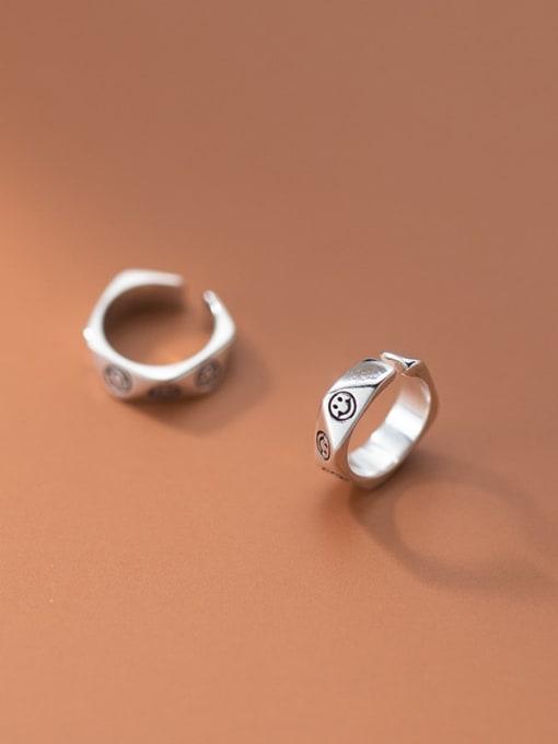 Rosh 925 Sterling Silver Geometric Vintage Huggie Earring 0