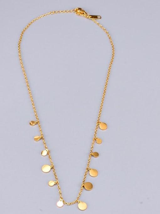 A TEEM Titanium Heart Minimalist Necklace 2