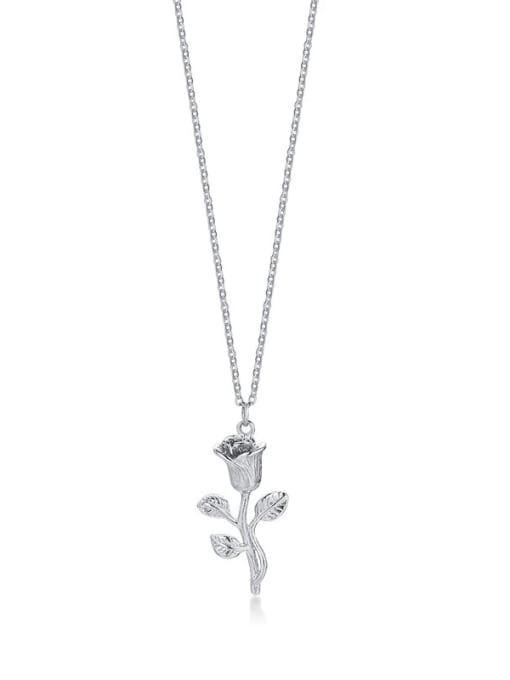 LI MUMU Titanium Steel Rosary Minimalist Necklace 1