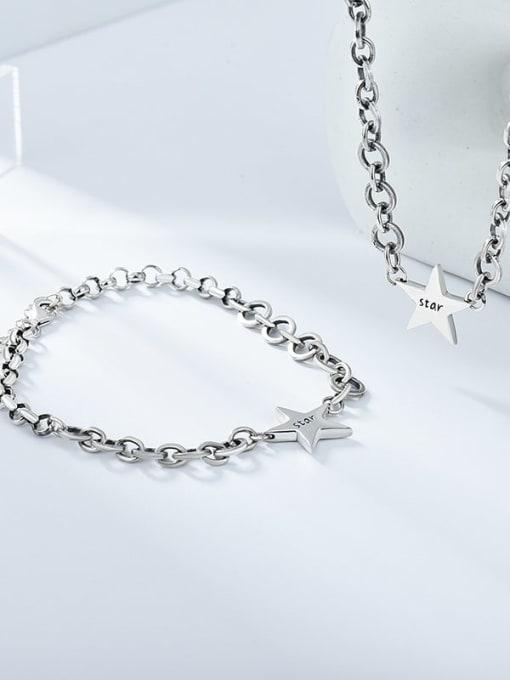 XBOX 925 Sterling Silver Vintage Multi Strand Necklace 0