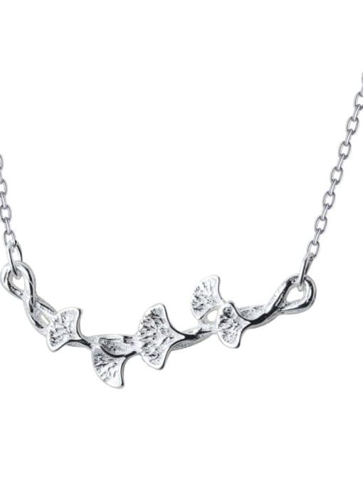 Rosh 925 Sterling Silver Irregular Minimalist Necklace 3