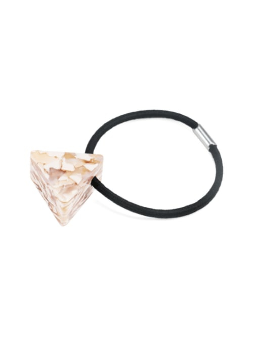 Marbling powder Cellulose Acetate Minimalist Triangle Multi Color Hair Rope
