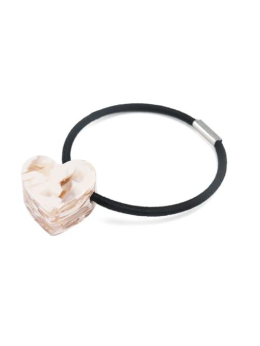 Marbling powder Cellulose Acetate Minimalist Heart Hair Rope