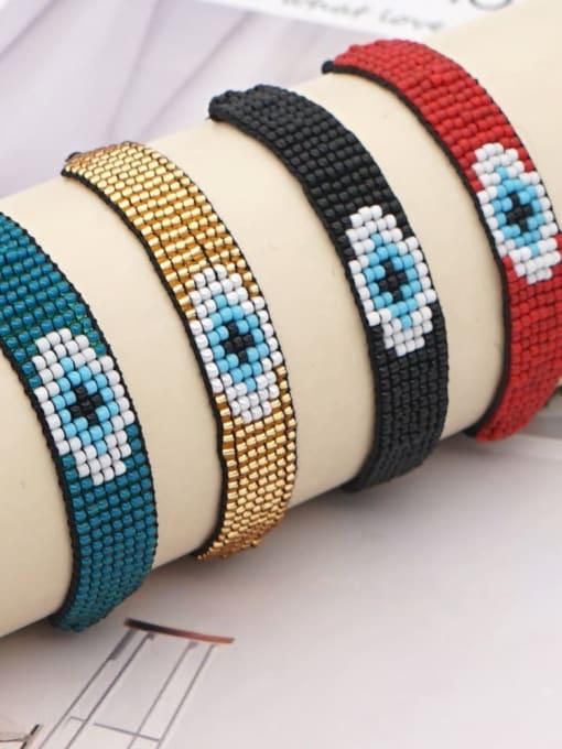 Roxi Stainless steel MGB Bead Geometric Bohemia Adjustable Bracelet