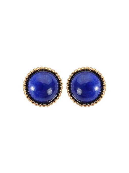 DEER 925 Sterling Silver Carnelian Geometric Minimalist Stud Earring 4
