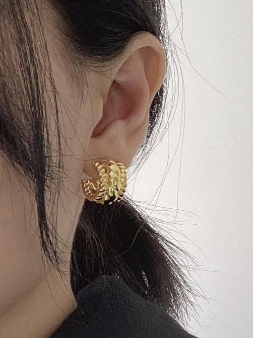 LI MUMU Brass Geometric Vintage Drop Earring 3