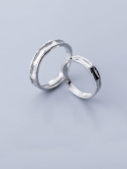 Rosh 925 Sterling Silver Round Minimalist  Free Size  Ring 2