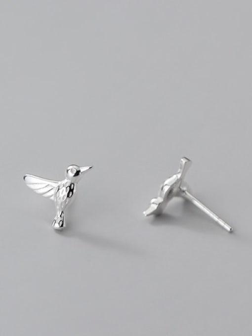 Rosh 925 Sterling Silver Bird Cute Stud Earring 4