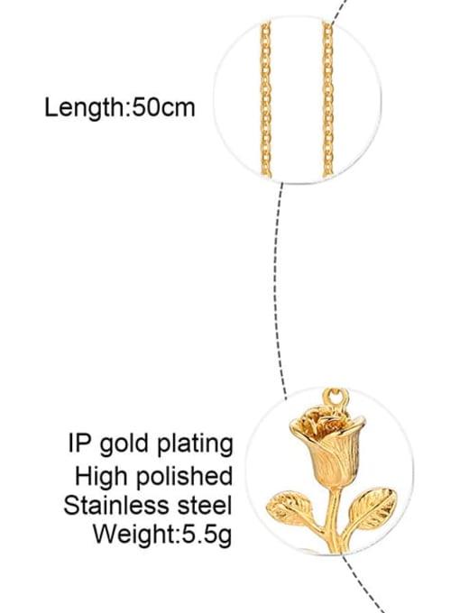 LI MUMU Titanium Steel Rosary Minimalist Necklace 3