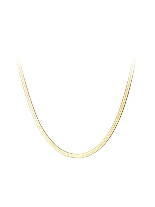 Rosh 925 Sterling Silver Minimalist Chain Necklace 3
