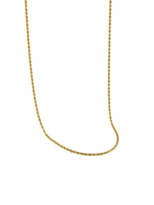 DAKA 925 Sterling Silver Round Minimalist Necklace 4