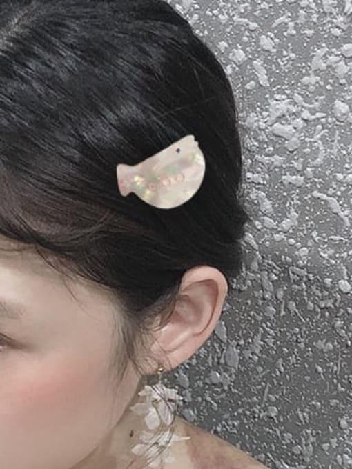 Chimera Alloy  Cellulose Acetate Cute Dolphin  Hair Barrette 1