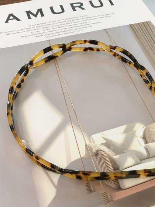Chimera Cellulose Acetate Vintage Geometric Hair Headband 1