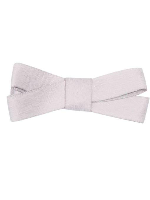 10  grey Alloy Fabric Cute Bowknot  Multi Color Hair Barrette