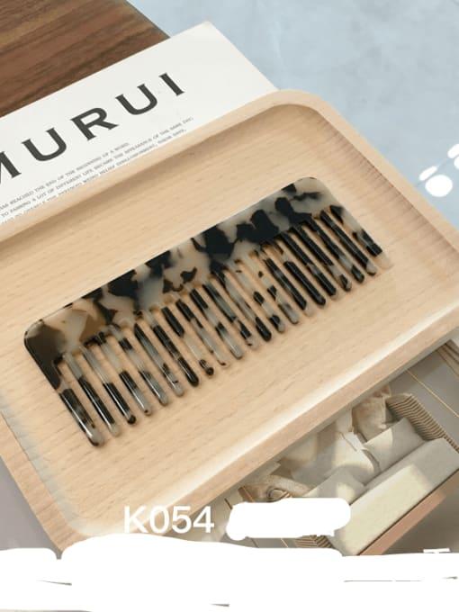 K054m hawksbill Cellulose Acetate Minimalist Geometric Hair Comb