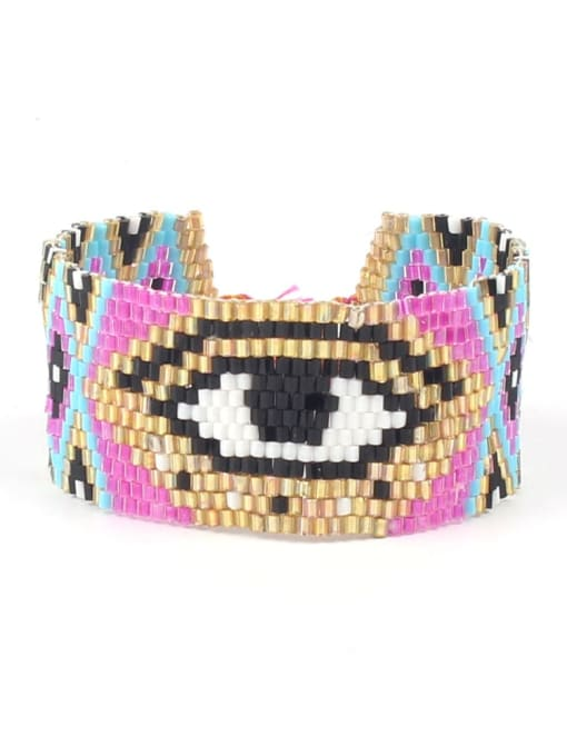 Roxi Multi Color MGB Bead Geometric Bohemia Adjustable Bracelet 0