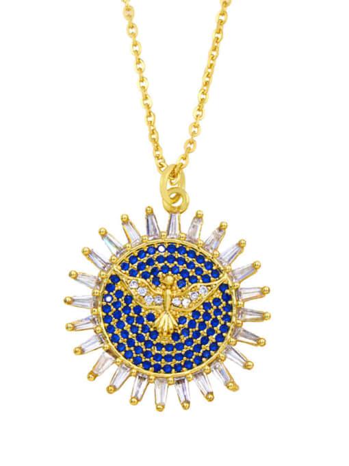CC Brass Cubic Zirconia Locket Hip Hop Necklace 1