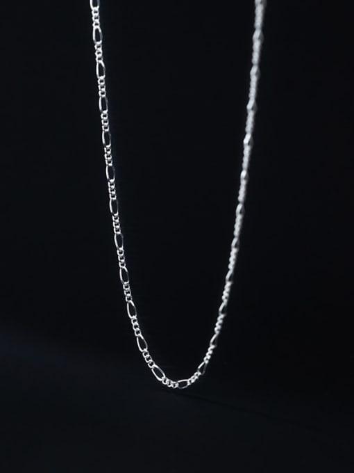 Rosh 925 Sterling Silver Geometric Minimalist Necklace 2