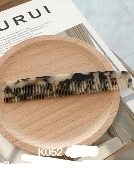 K052m hawksbill Cellulose Acetate Minimalist Geometric Hair Comb