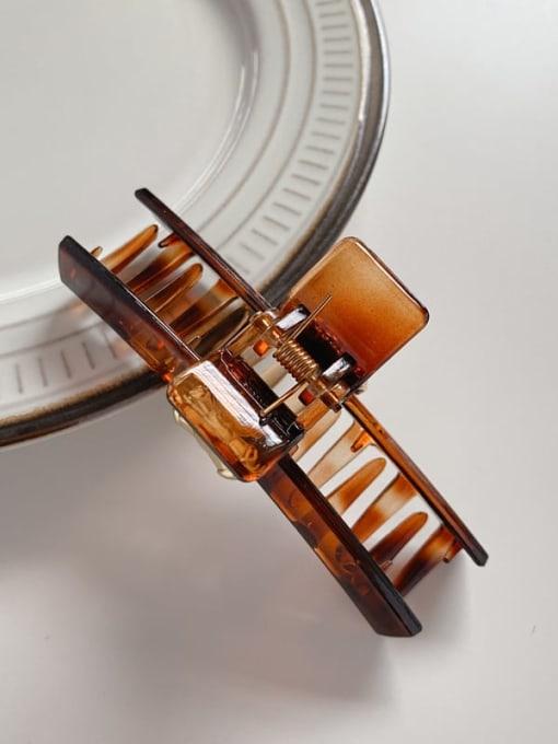 Chimera Acrylic Minimalist Geometric Alloy Jaw Hair Claw 3