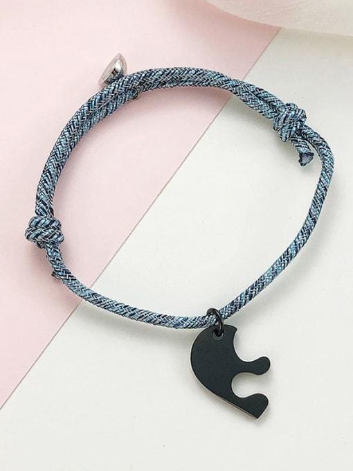 CONG Titanium Steel Heart Vintage Bracelet 1
